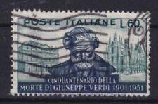Italien Mi Nr. 852, gest., 50. Todetag Verdi 1951, used