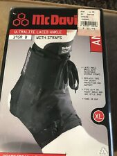 *NEW* McDavid 195 Ultralight Laced Ankle Brace Support W/ Straps  *NEW* XL