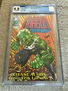 1992 Image SAVAGE DRAGON #1 Limited Series FIRST APPEARANCE 1st App CGC 9.8 Blue