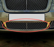 Chrome Mesh Front Bumper Lower Grille Middle For Bentley Continental Flying Spur
