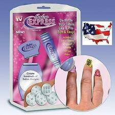 Salon Express Nail Art Stamping Kit -- 40% Off 2nd Item!