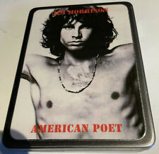 Vtg Pocket Cigarette or Other Type Case Jim Morrison American Poet Free Shipping