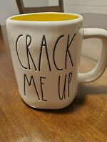 Rae Dunn Crack Me Up Yellow Inside Mug. 2020 Release