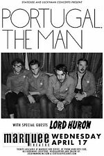 PORTUGAL THE MAN / LORD HURON 2013 PHOENIX CONCERT TOUR POSTER - Alt. Rock Music
