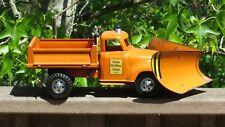 Tonka Toys Ford Cab STATE HI-WAY DEPT HYDRAULIC DUMP TRUCK PLOW 50's