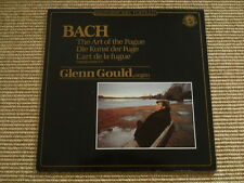 Bach Art of the Fugue Kunst der Fuge Glenn Gould - LP - washed /gewaschen