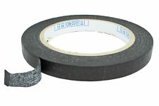Black Textured Paper Pickup Tape for humbucker & single coils - 12mm x 43 yds
