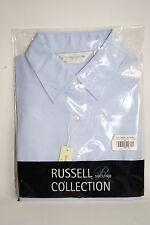 Nueva colección RUSSELL Moda Diseñador Para Hombre Oxford de Superdry Talla M Algodón Azul