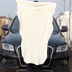 Natural Shammy Chamois Leather Car Cleaning Towel Drying Washing Cloth 30*50c SC
