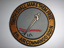 US 5th AIR COMMANDO SQUADRON At NHA TRANG Vietnam War Patch