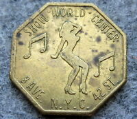 UNITED STATES Worlds Greatest Show Place TOKEN, NEW YORK - ALL THINGS NASTY