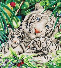 Diamond Dotz Facet Art Kit - White Tiger and Cubs