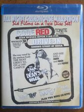 CODE RED ALL NIGHT GRINDHOUSE MARATHON (6-Film, 2-Disc Blu-Ray Set) BRAND NEW!!!