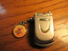 Geneva Keychain Watch Miniature Cell Phone- Japan Movement- New Battery