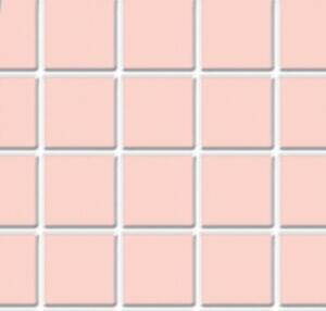 Dolls House Pink Tile Flooring Sheet Moulded Plastic Miniature 1:12 Scale