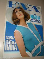 EVA=1968=MICHEL MERCIER=FRANCO INDOVINA=RIVISTA MODA 16 GIUGNO '68=