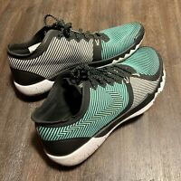 NikeLab Free Tr 3.0 V4 Premium Shoe 831314-300 Men 7, Women 8.5 Color Teal White