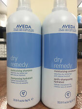 Aveda Dry Remedy Shampoo & Conditioner 33.8oz each SET RETAIL PRODUCT