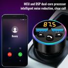 Wireless Bluetooth FM Transmitter 5.0 Car Radio Audio Adapter RGB Lights USB CH