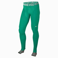 Nike Pro Hyperrecovery Leggings Men's Teal Green White Sportawear Activewear