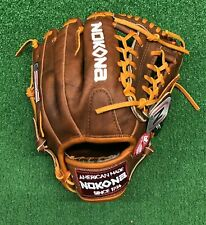 "Nokona Classic Walnut Youth 11.25"" Baseball Glove W-200 Recommended for 8-12 y/o"