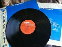 LEE RITENOUR VINYL on the line LP JAPAN Direct Disk JVC with OBI '83 JAZZ guitar
