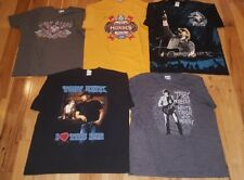 Toby Keith LOT OF 5 I Love This Bar Large and XL Black T-Shirts Variety men's