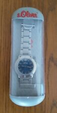 MEN'S WRITST WATCH STAINLESS STEEL 30M WATER RESISTANT S.OLIVER