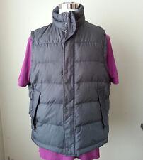 Kenneth Cole men size XL puffer down vest gray color