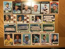 Lot of 36 Different Signed 1970-2004 Topps Baseball Manager Cards