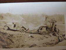 VTG Film Negatives Prints Construction Equipment Concrete 1930s Lot of 12 #9011