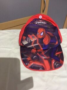 Boys Adjustable Spiderman Cap