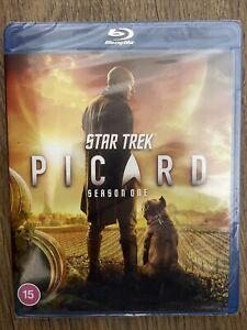 Star Trek: Picard - Season One (1) Blu Ray - UK Stock New & Sealed