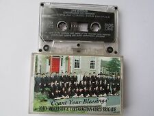 JOHN MORRISON & TARTARAGHAN GIRLS BRIGADE COUNT YOUR BLESSINGS 1996 TAPE,TESTED.