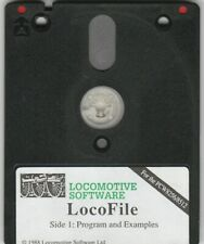 LOCOFILE DISC For AMSTRAD PCW 8256 & 8512 Computers