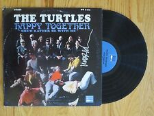 MARK VOLMAN of THE TURTLES signed HAPPY TOGETHER 1967 Record COA ZAPPA