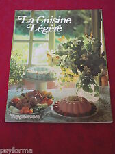 Livre de cuisine / TUPPERWARE La Cuisine Légere / Rare
