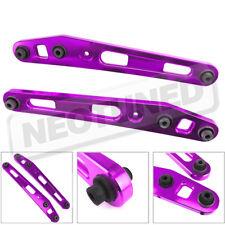 For 96-00 Honda Civic EK EM1 Purple CNC Aluminum Rear Lower Control Arm Kit Pair