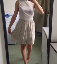 Marc Jacobs Designer Cream Skirt BNWT XS RRP £195