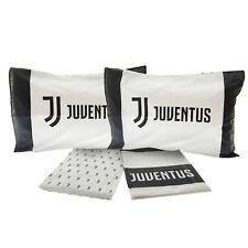 Completo lenzuola F.C. Juve Juventus Ufficiale per letto Matrimoniale Nuovo Logo