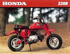 1980 Honda Z50r Minibike Moto Brochure-Honda Z 50 un - Mini Trail Singe Vélo