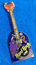OSAKA HALLOWEEN PURPLE GRIM REAPER GRAVESTONE GUITAR 2000 Hard Rock Cafe PIN