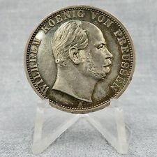 1871-A German States Prussia Sieges Thaler Silber Silver Toned + Luster  71-2 🤩