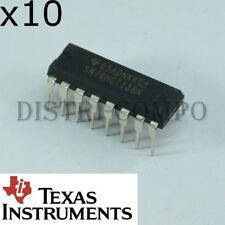 74HCT138 = SN74HCT138N 3 to 8 line decoder DIP-16 Texas RoHS (lot de 10)