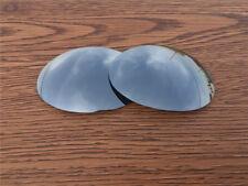 Silver Titanium Polarized Replacement lenses for Oakley Vintage E Wire 1.0