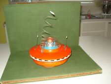 1959 CRAGSTAN FLYING SAUCER BATTERY OPERATED TOY, NICE SHAPE