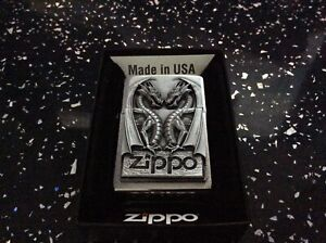 Zippo lighter Twin Dragon Heart absolutely stunning new quality gift.