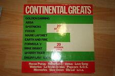 """Continental Greats -V.A. Earth and Fire, ABBA, u.a.- 12"""" LP sehr rar"""