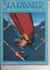 SEA KAYAKER 1996 AROUND TASMANIA PACKING FOR PERFORMANCE STRANADED IN ALASKA