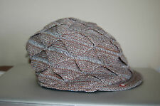 NWT Unisex Element Crowns Woven Ivy Cap Brown White Gray S/M Really Nice LQQK FS